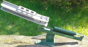 Extended Hook & Bolt Clay Trap Spring fitted to a Clay Sport Master