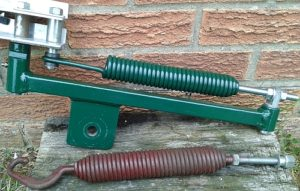Extended Hook & Bolt Clay Trap Spring fitted to a modified Clay Sport Master