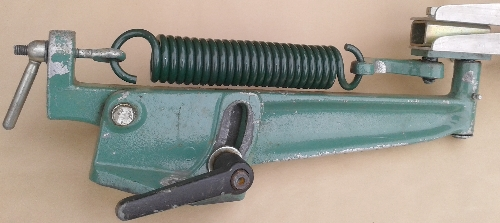 Standard Double Clay Trap Spring, fitted to a Baowman No.3